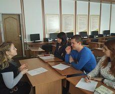 Засідання ради молодих науковців факультету